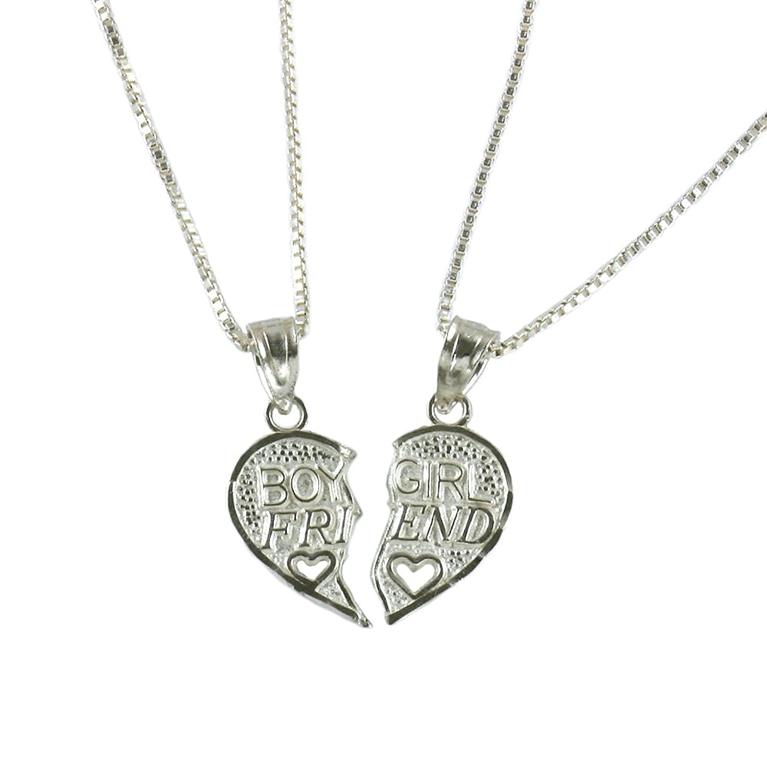 sgd splitheart steel jewelry friend split best stainless lockets necklaces necklace bling bff heart enamel