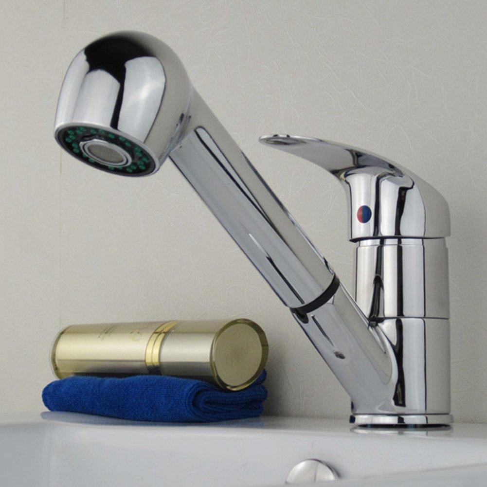 Waschtischarmatur Ausziehbar,Küchenarmatur mit Brause ...