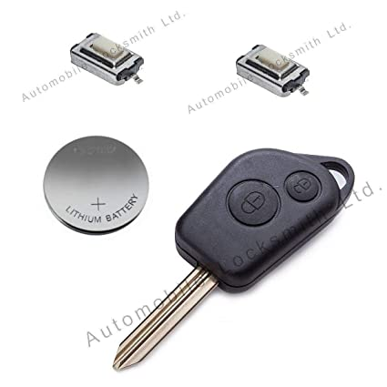 Automobile Locksmith - Kit de reparación para llave con ...
