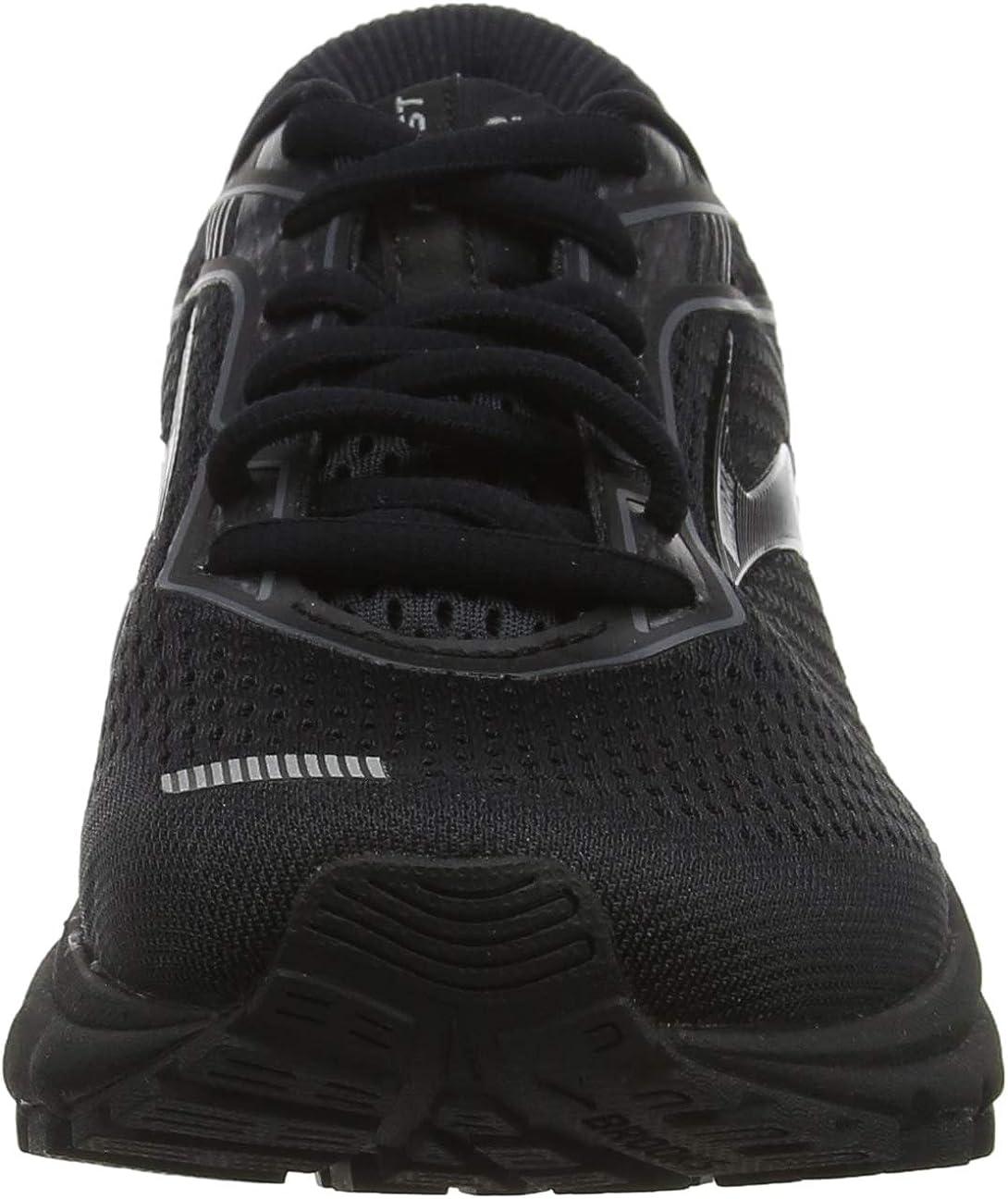BRK-120305 1B 4356660 7.5 Black//Grey Brooks Womens Ghost 12 Running Shoe 040