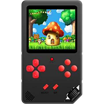 Beijue 16 Bit Handheld Games for Children Adults 3.0'' Large Screen Preloaded 220 HD Classic Retro Video Games Travel Arcade Entertain System Seniors Electronic Game Player Birthday Xmas Gift (Black)