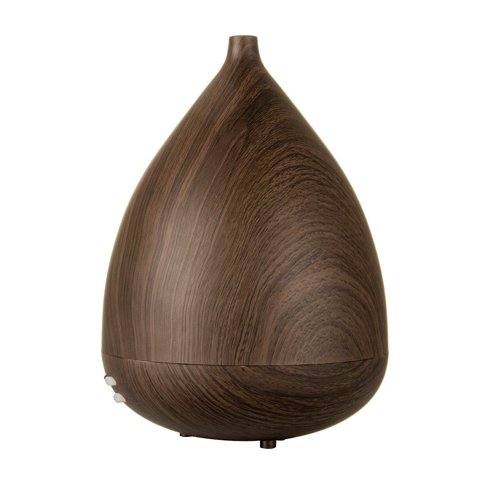300ML Aroma Essential Oils Diffuser Home Ultrasonic Cool Mist Humidifier Wood Grain Mist Purifier by Makifly
