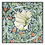 Pimpernel by William Morris Counted Cross Stitch Pattern
