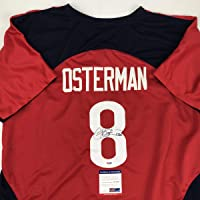 $114 » Autographed/Signed Cat Osterman USA United States Red Team Softball Jersey JSA COA
