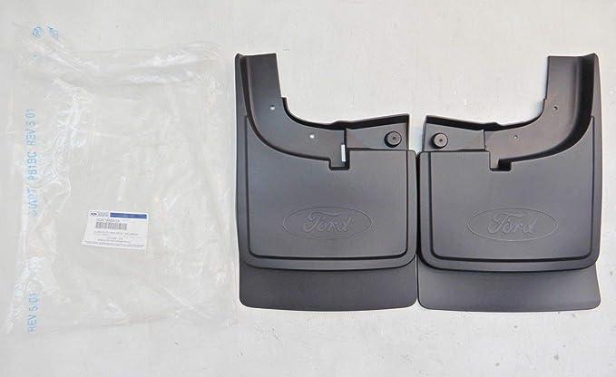 Ford 2011-2018 Pair of Splash Guard Mud Flaps HC3Z-16A550-D Dual Rear Wheels