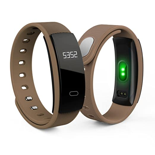 Reloj Inteligente Xinan QS80 Bluetooth reloj pulsera inteligente Monitor de ritmo cardíaco de fitness Para iOS