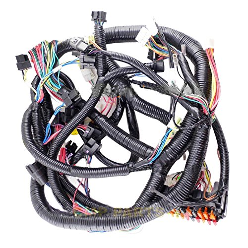 0003647 Wiring Harness - SINOCMP Wiring Harness for Hitachi Zaxis120-1 Excavator Electric Parts 3 Month Warranty: