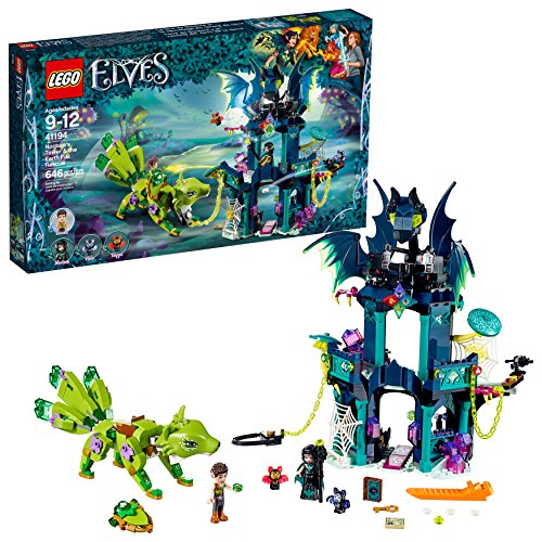 (LEGO 6212148 Elves Noctura's Tower and The Earth Fox Rescue 41194 Building Kit )