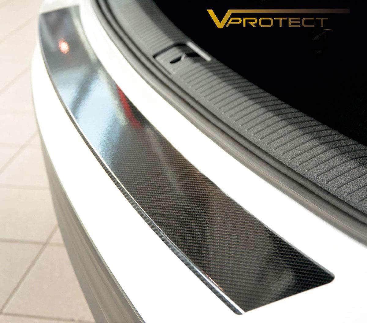 2023-602 V-Protect 5D Carbon Ladekantenschutz Lackschutzfolie Glanz