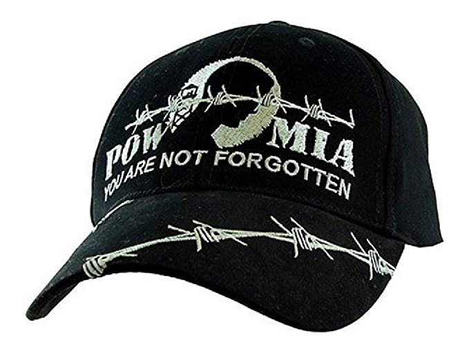 ee3da6b267a Image Unavailable. Image not available for. Color  POW MIA You Are Not  Forgotten Hat ...