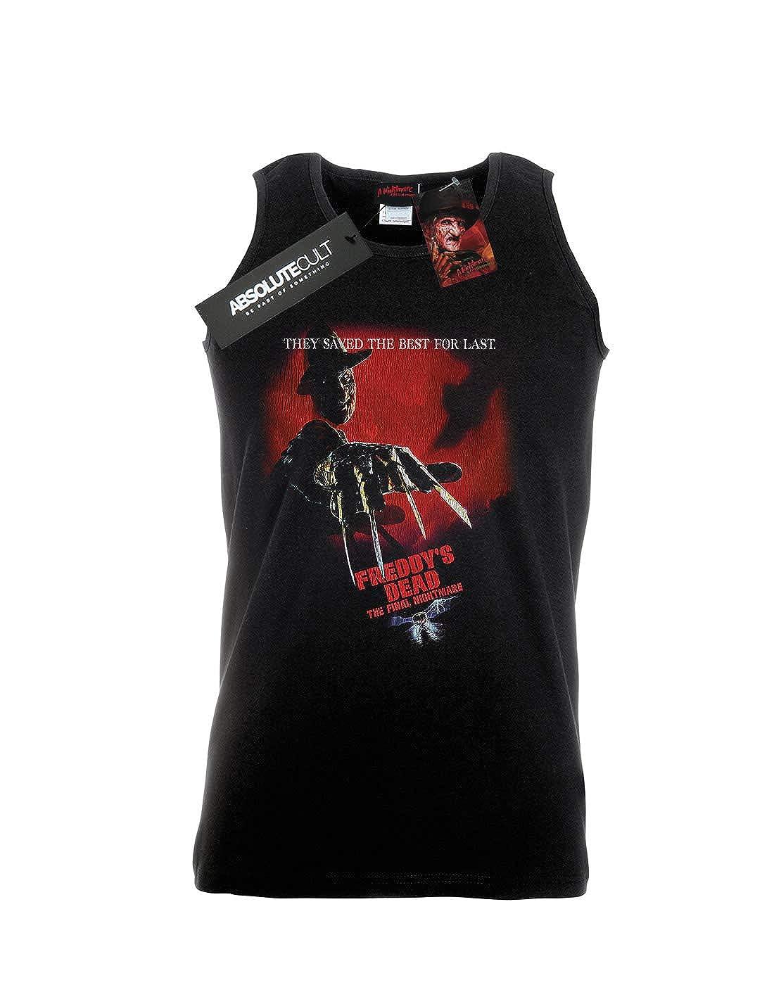 Nightmare On Elm Street Mens Freddys Dead Tank Top