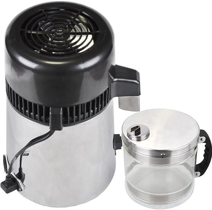 olizee 304 Acero inoxidable purificador de agua Destilador de agua pura agua eléctrica: Amazon.es: Hogar