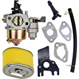 FitBest Carburetor with Air Filter Intake Manifold for Honda GX160 5.5HP GX200 6.5 HP Engine Carb Replaces# 16100-ZH8…
