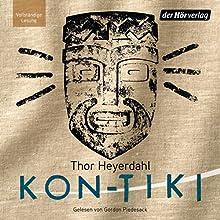 Kon-Tiki: Ein Floss treibt über den Pazifik Hörbuch von Thor Heyerdahl Gesprochen von: Gordon Piedesack