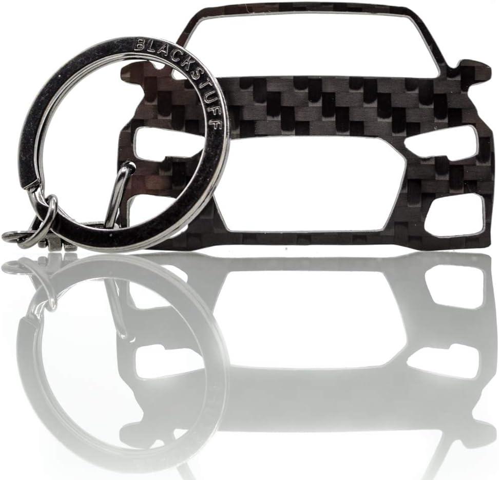 BlackStuff Portachiavi In Fibra Di Carbonio Compatibile Con A1 S1 RS1 8X 2010-2019 BS-135