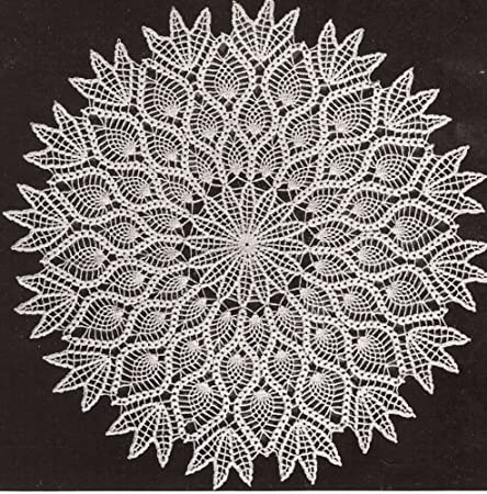 FAST Five-Hour Doily//CROCHET PATTERN INSTRUCTIONS ONLY