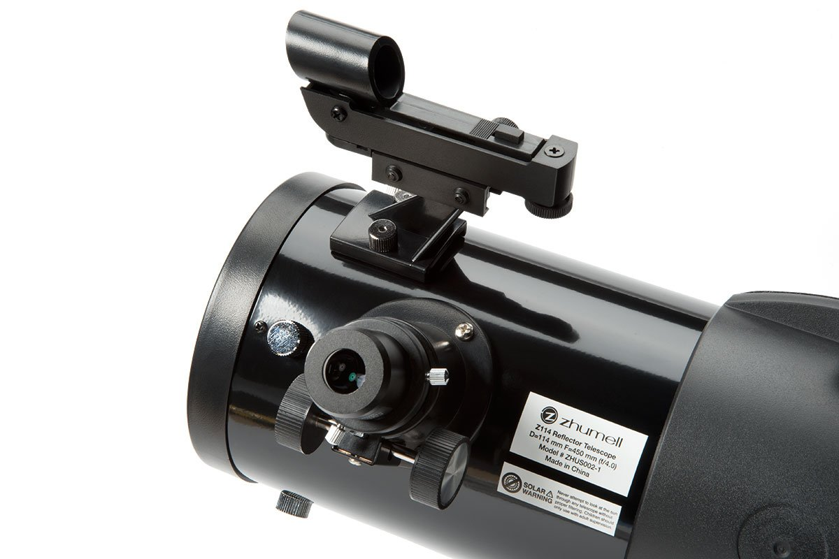 Zhumell Z114 Portable Altazimuth Reflector Telescope by Zhumell (Image #5)