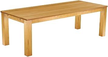 brasilmobel tisch 240x100 rio classiko honig pinie massivholz grosse farbe wahlbar
