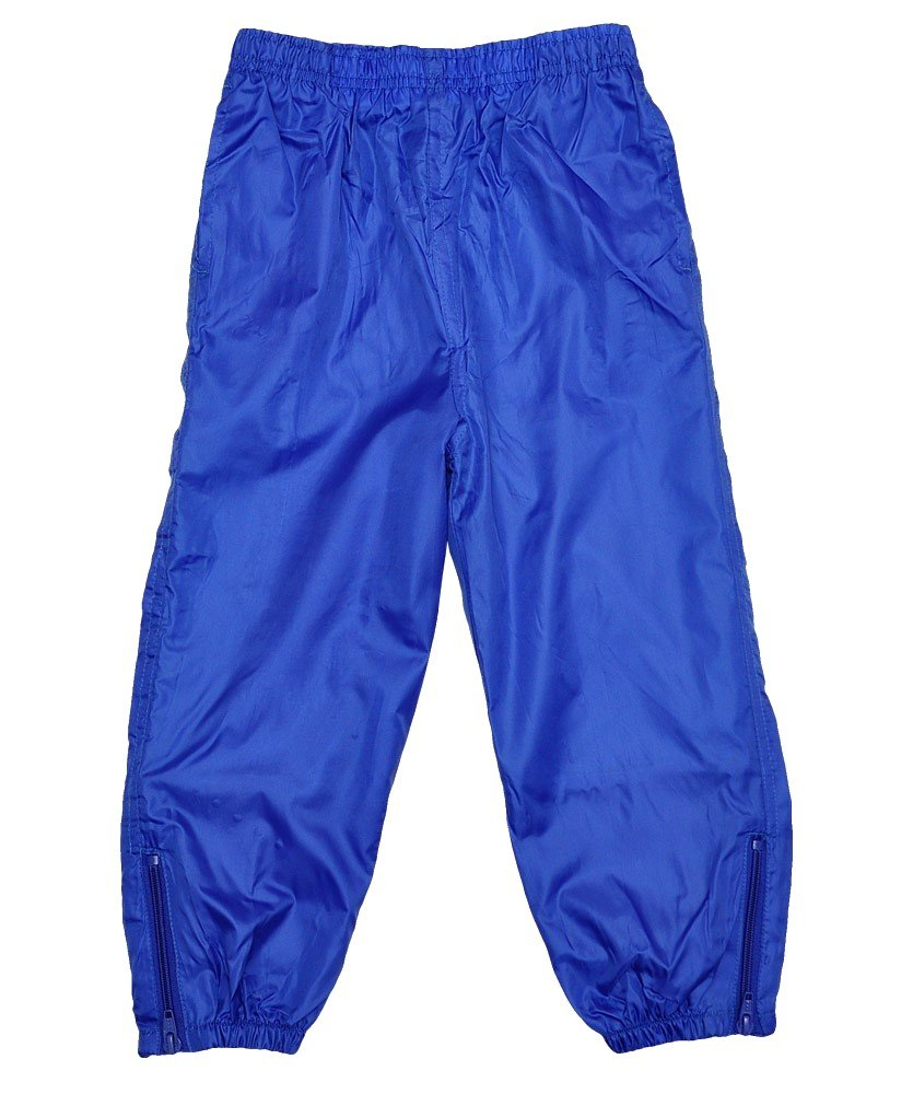 Boys Girls Babies Unisex Lightweight Lined Waterproof Rain Resistant Pants.3mths -6years