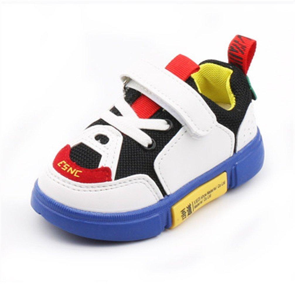 Calzado Deportivo Para Niños Zapatos Transpirables Para Niños y Niñas Zapatos Casuales De Viaje Al Aire Libre Zapatos Deportivos Ligeros De Malla Suave Para Caminar Para Niños De Entre 1 y 6 años De Edad (25, Verde) Stillshine