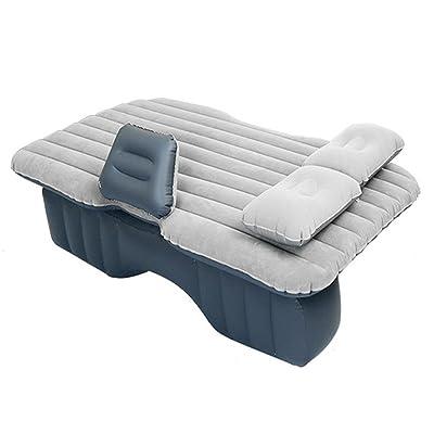[Albjhb] Car Air Matelas Tapis de salle de jeux pour véhicule Air Tapis de tapis de siège arrière pour SUV et Sedans Canapé & Simple anglais manuel de l'utilisateur