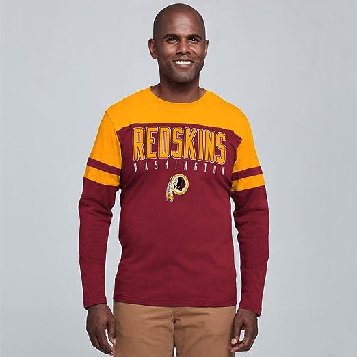 Amazon.com   Washington Redskins Men s Playoff Long Sleeve T-shirt   Sports    Outdoors 18fbf6a7f