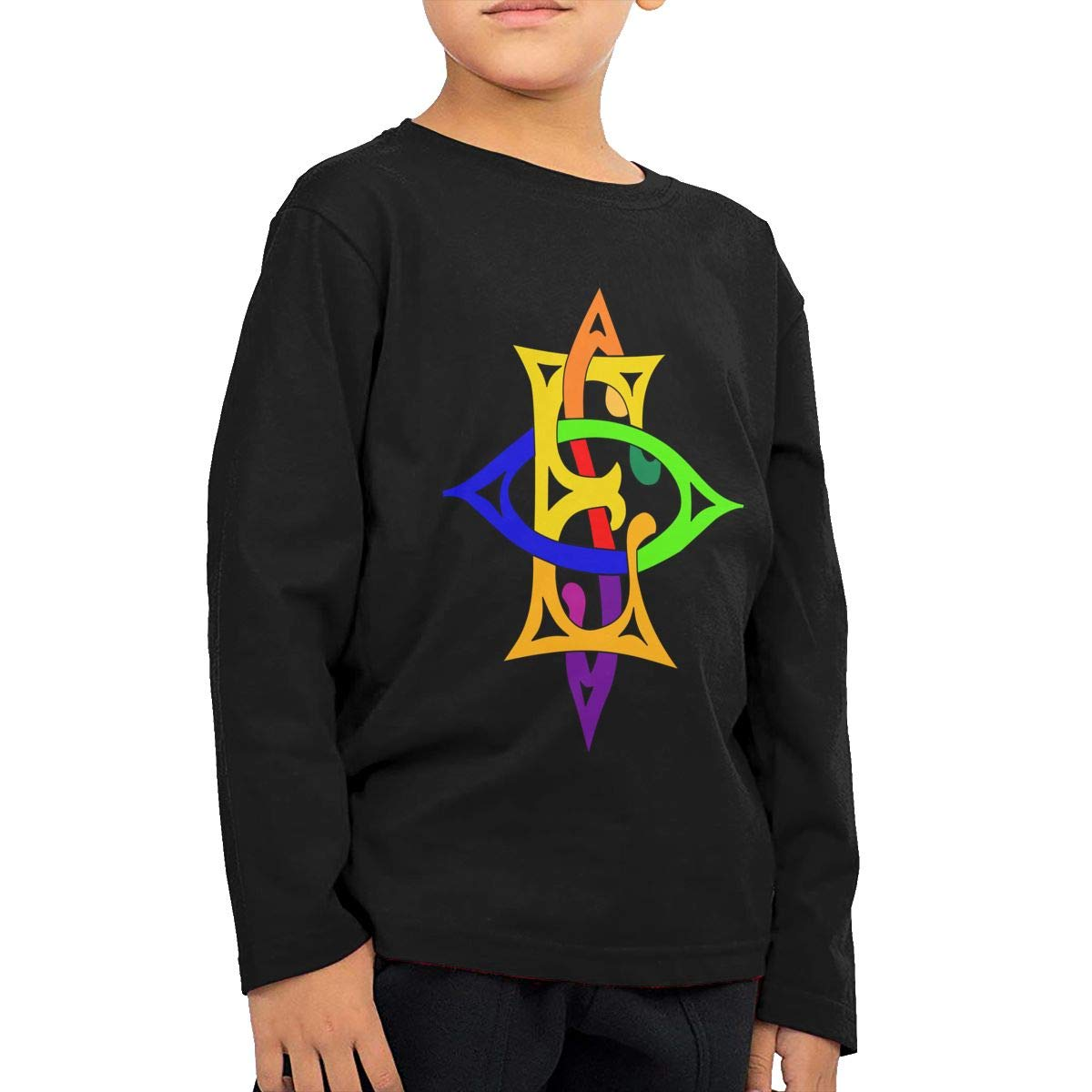 HADYKIDSLOVE OES Labyrinth Kids T-Shirt Long Sleeve Boys Girls T-Shirt