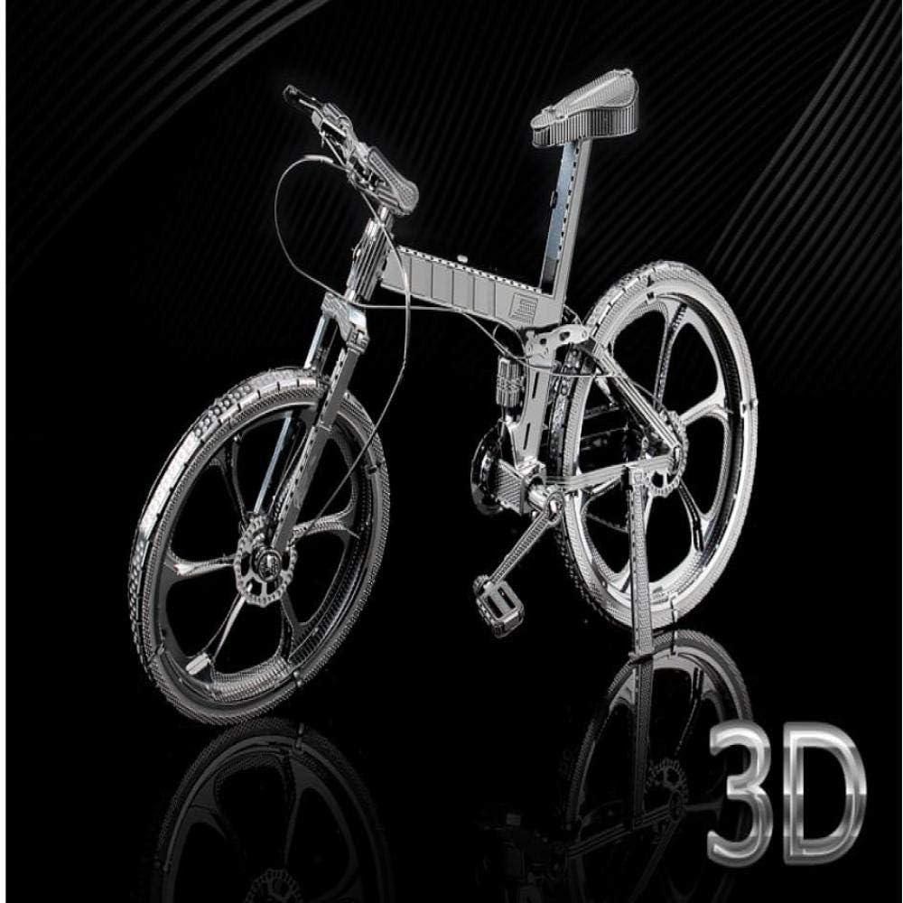 Bicicleta de montaña modelo de rompecabezas de metal 3D juguete ...