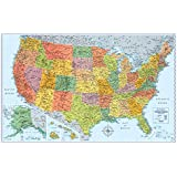 Rand McNally Signature United States Wall Map - Laminated