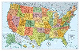 Rand McNally Signature Map Of The United States Rand McNally - States map of united states