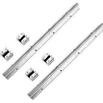 guida per asta lineare 10mmSK10 Supporto per staffa verticale per asse ottico per XYZ Tavolo CNC Supporto per albero a guida lineare 2pz