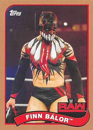 2018 Topps Heritage WWE #28 Finn Balor Raw Wrestling Trading Card