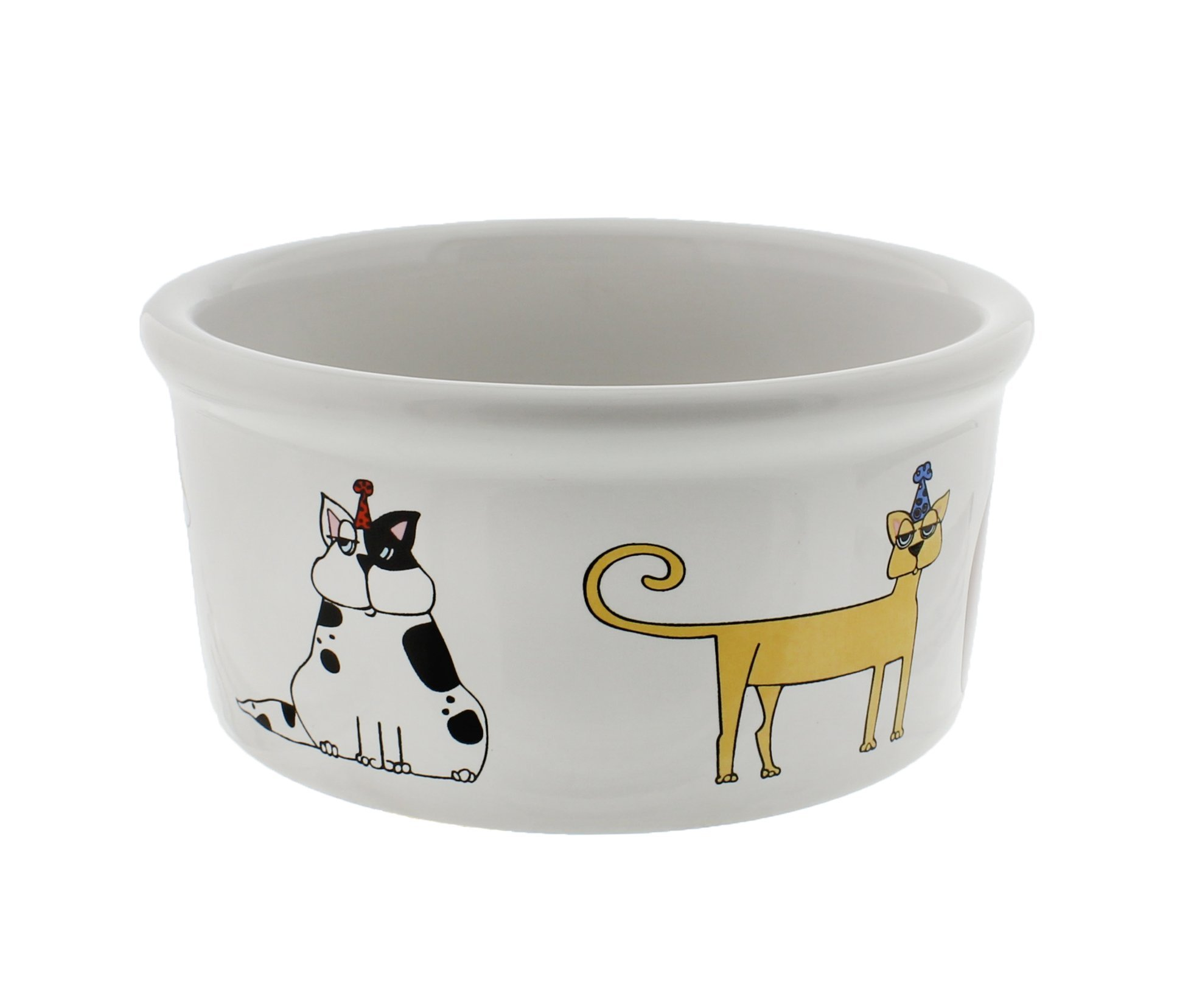 Signature Housewares Cat Party Bowl, Small