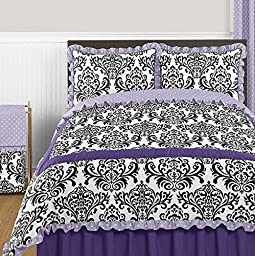 Sweet Jojo Designs Lavender Polka Dot and Purple Sloane Baby, Childrens Lamp Shade