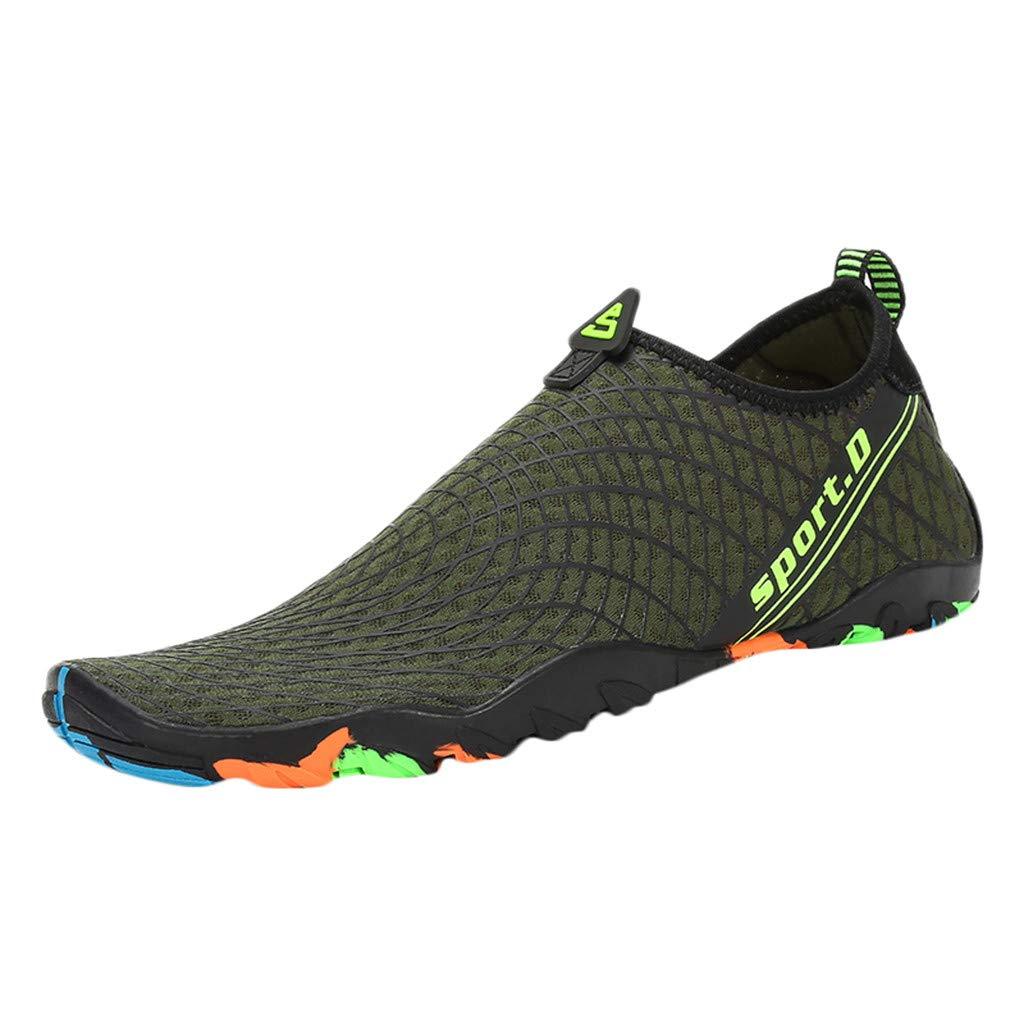 Sherostore ♡ Water Sports Shoes Barefoot Quick-Dry Aqua Yoga Socks Slip-on Beach Swim Surf Exercise for Men Women Kids