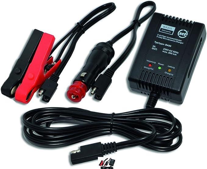 Ledershop Online Batterieladegerät Motorrad Ladegerät Ba 80 Von Baas Auto