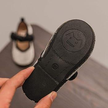 Zapatos de bebé, ASHOP Niña Casuales Zapatillas del Otoño Invierno Cristal Metal Princesa Bowknot Deporte Antideslizante del Zapatos Individuales 0-6 Años (Negro,4-4.5 Años): Amazon.es: Ropa y accesorios