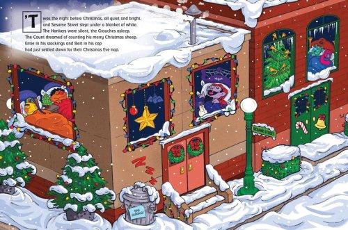 Sesame Street Elmo's Night Before Christmas (Sesame Street ...