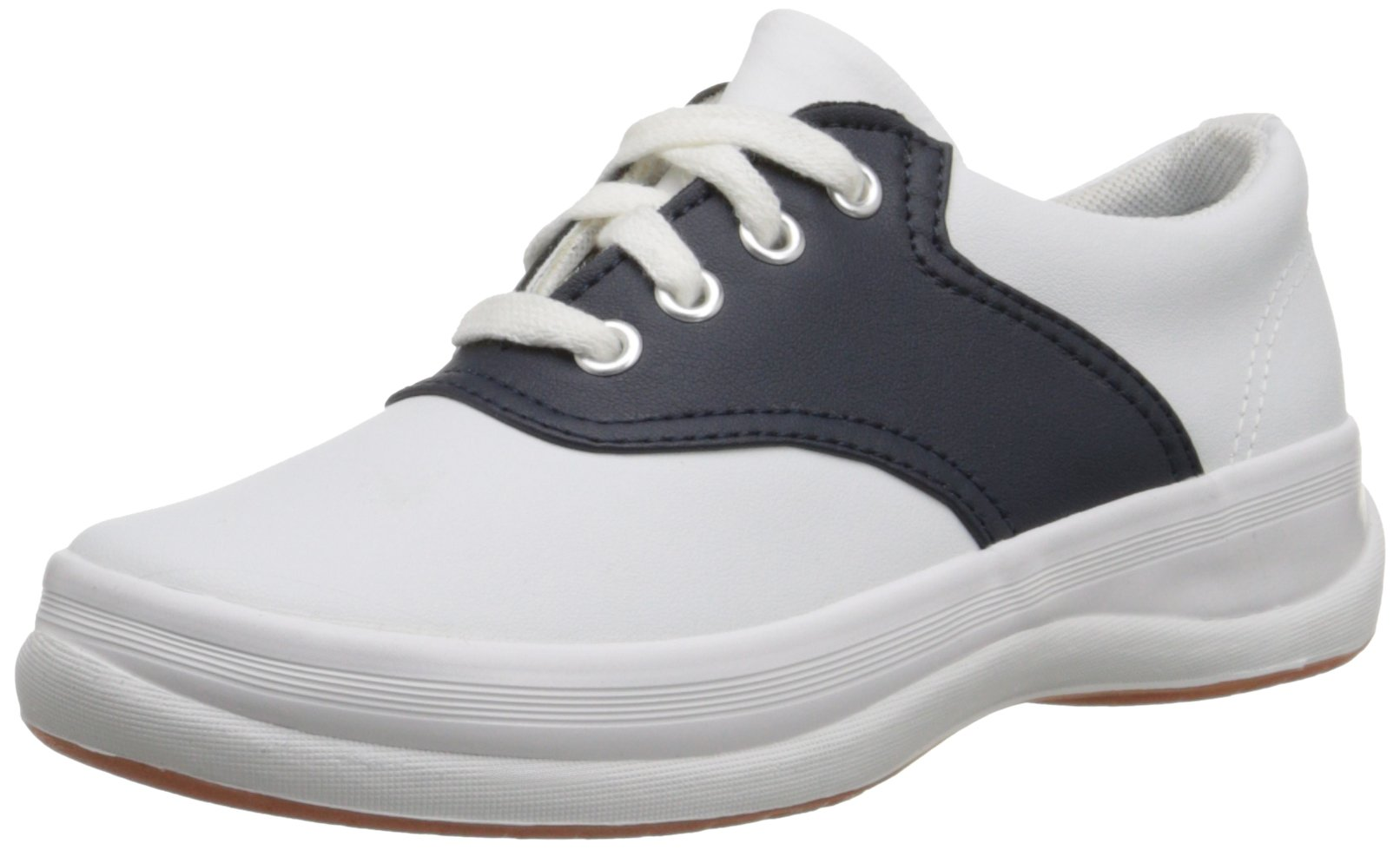 Keds School Days Sneaker Big Kid 1.5 White/Classic Navy
