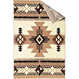 Champion Rugs Southwest Native American Indian Ivory Carpet Area Rug (8 Feet X 10 Feet)