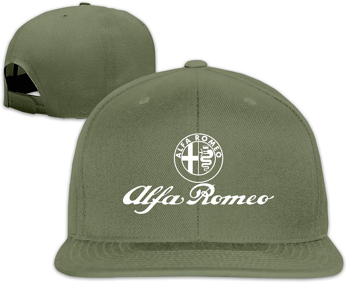 Runxindianzi Design Aufkleber Alfa Romeo Cool Hats for Man Black