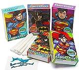 Batman & Superman Candy Sticks 30 Count