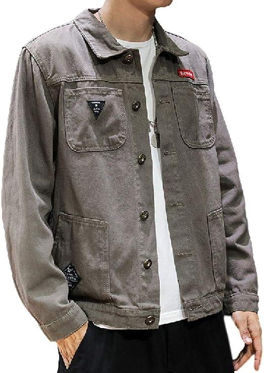 デニム ジャケット アウター メンズ 綿 ジャン ヒップホップ ストリート 原宿風 秋冬服 ダメージ 加工 長袖 大きいサイズ M-5XL かっこいい カジュアル ファッ