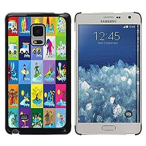 Dragon Case - FOR Samsung Galaxy Mega 5.8 - Genius only means hard-working - Caja protectora de pl??stico duro de la cubierta Dise?¡Ào Slim Fit