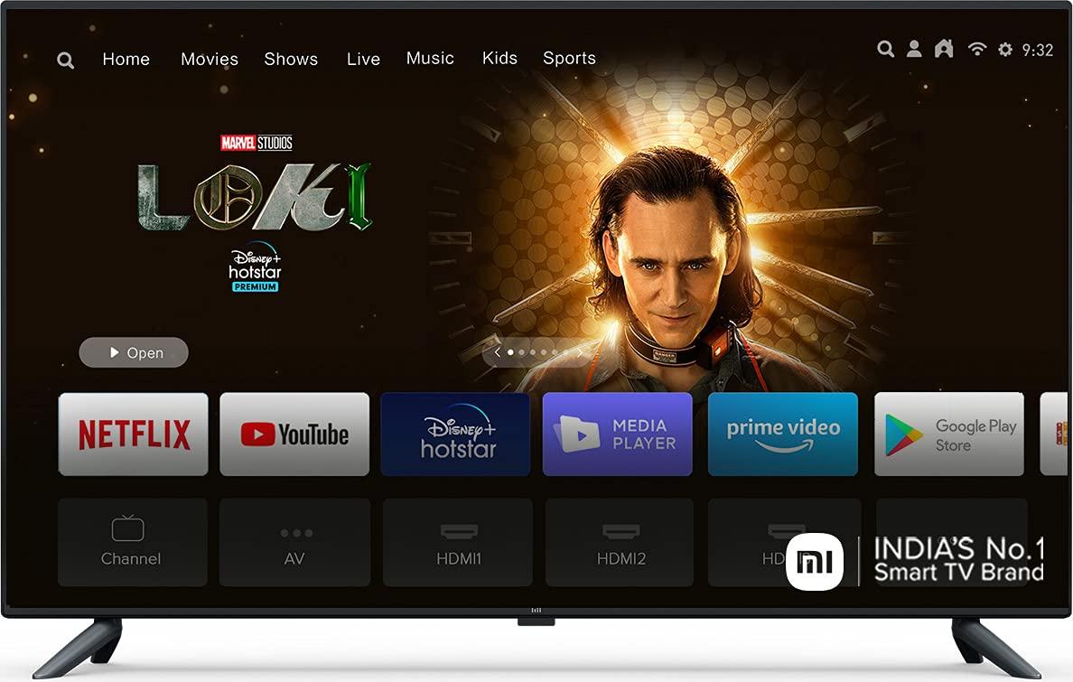 Mi 125.7 cm 4K Ultra HD Android Smart LED TV