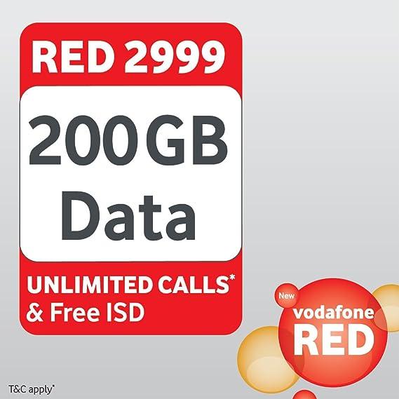 Vodafone Red Postpaid Plan 2999