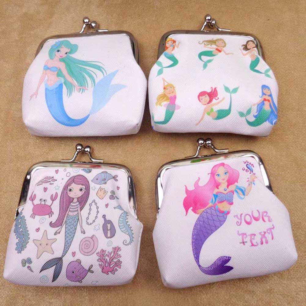 AMA-StarUK36/Mignon Dessin anim/é Motif Porte-Monnaie Mini PU Portefeuille Creative Cadeau Touches /étui pour Carte Earphone Package Sac /à Main