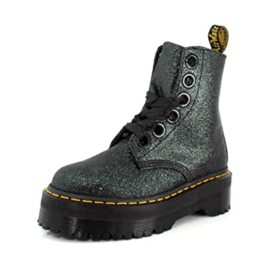 675f5af4c Amazon.com | Dr. Martens Womens Molly Glitter Boot | Ankle & Bootie