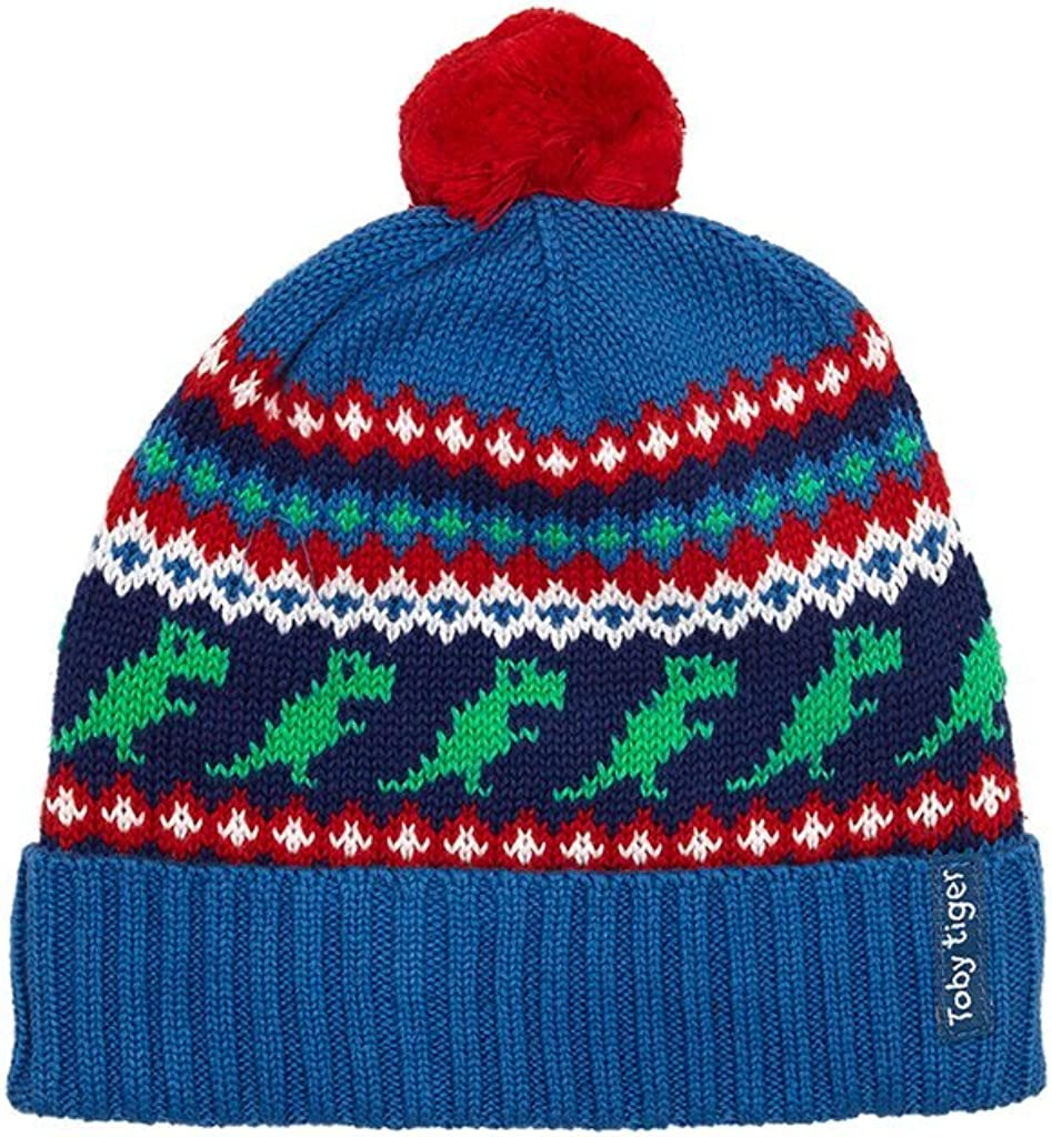 Toby Tiger Dino Knitted Hat