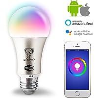 Foco Led Inteligente Wifi 16m Colors Acceso Internet X App